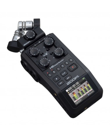 Zoom H6-BLK  - Centre Chopin