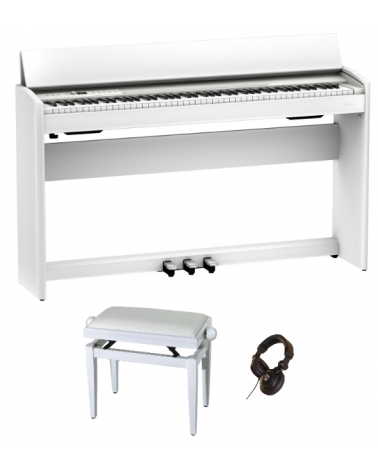 Roland F-701WH PACK BLANC SATINE  - Centre Chopin