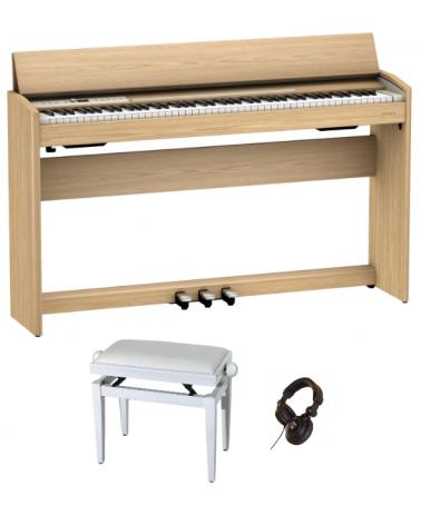 Roland F-701LA PACK CHÊNE CLAIR  - Centre Chopin