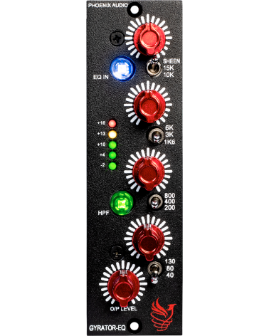 Phoenix Audio Gyrator-EQ /500  - Centre Chopin
